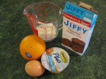 Sometimes all a good breakfast requires is a cheap muffin mix and a little creativity.