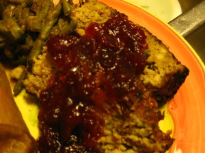 The heated cranberry sauce really adds moisture and zing to the finished loaf. I loved this.