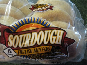 English muffins make the chewiest, happiest little croutons!