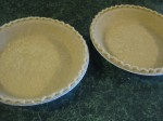 I was a loser and bought frozen pie crusts this time.