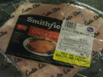 This giant ham center cost me only $2.67!