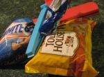 Leftover candy morsels