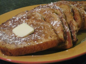 Gingerbread Spice French Toast