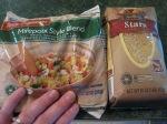Veggies & pasta.