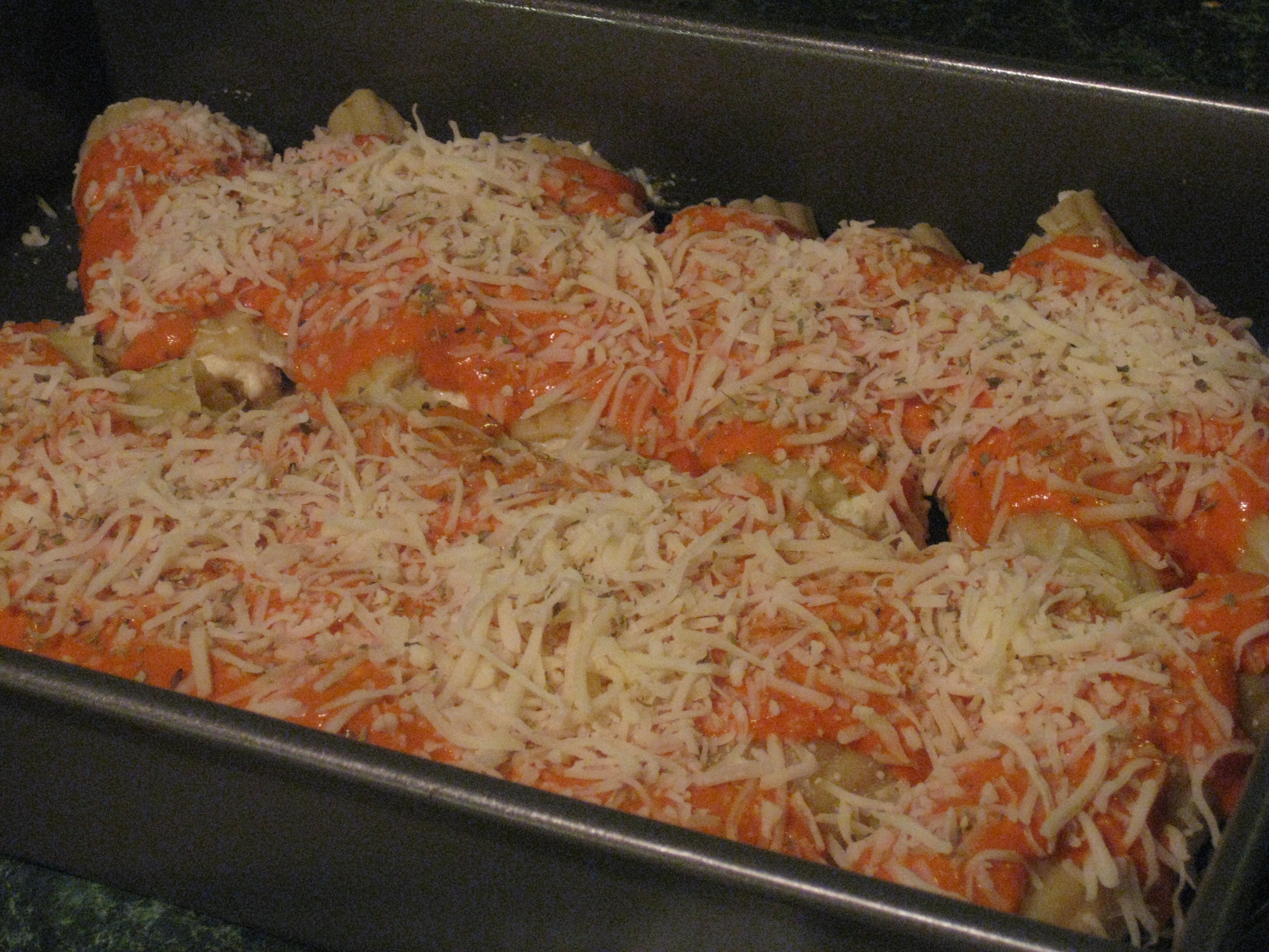 Seafood Manicotti Recipe — Dishmaps