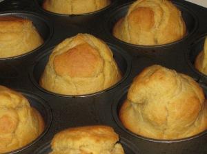 Conehead corn muffins!