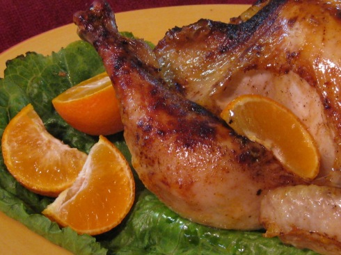 chicken with citrus & cinnamon